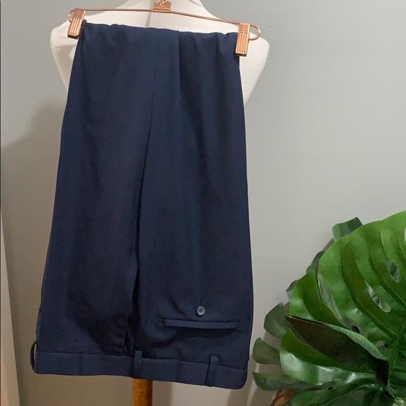 Haggar •mens classic fit dress pants navy
